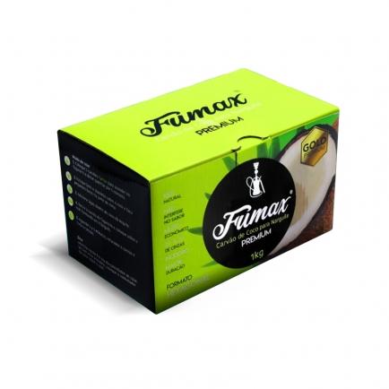 Carvão de Coco Fumax 1Kg para Narguile
