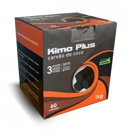Carvão de Coco Kimo Plus 1Kg para Narguile
