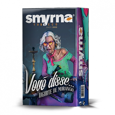 Essência Smyrna Vovó Disse Iogurte de Morango
